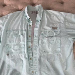 Men's vented fishing shirt Columbia pfg
